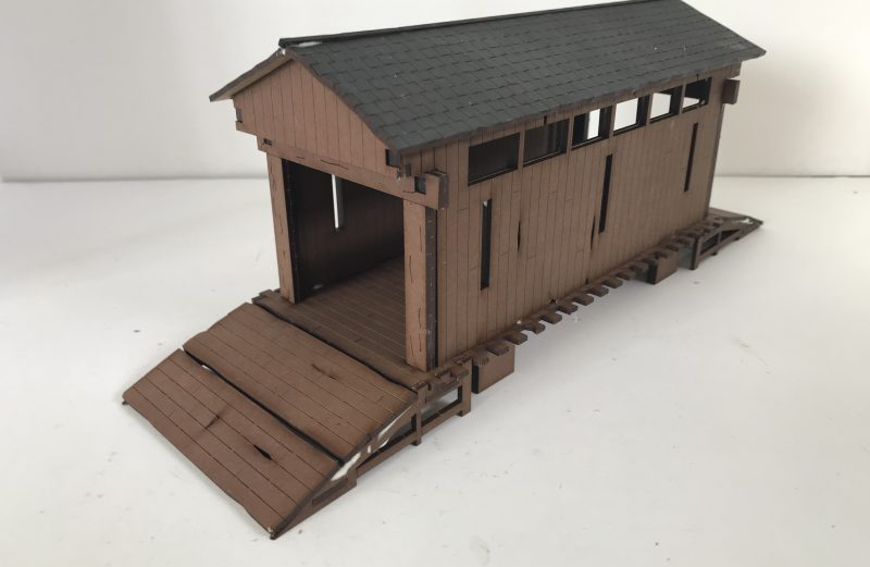28mm North American covered bridge