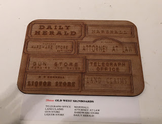 Old West Sign Boards