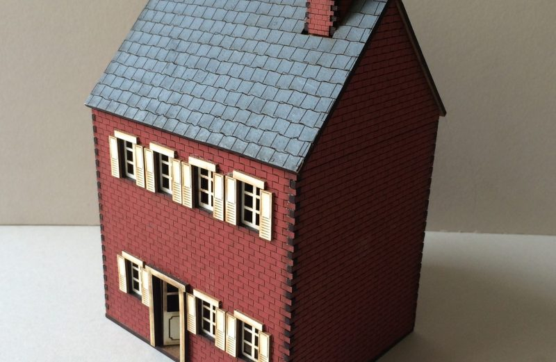 28mm ACW Brick House A