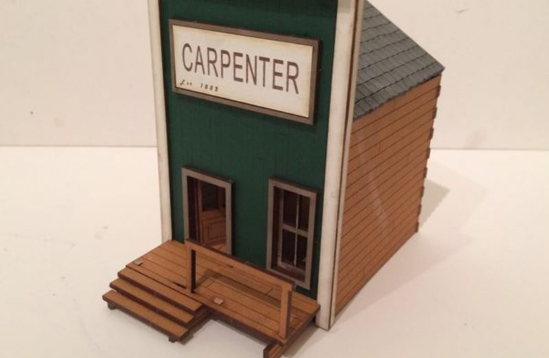 28mm Old West Carpenter
