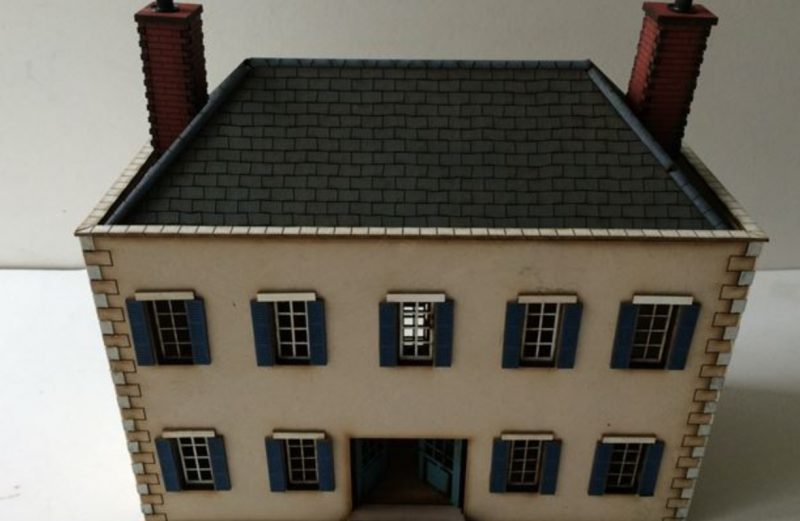 28mm ACW Large Sandstone House