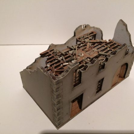 28mm Normandy 28-NY-Ruined Farmhouse KIT