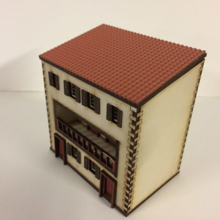 15mm Spanish/Italian large 3 storey house