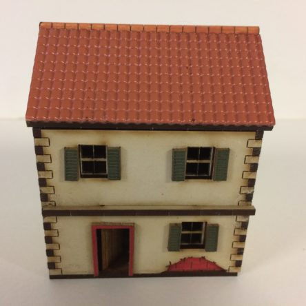 15mm Spanish/Italian house