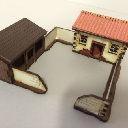 15mm Spanish/Italian farm