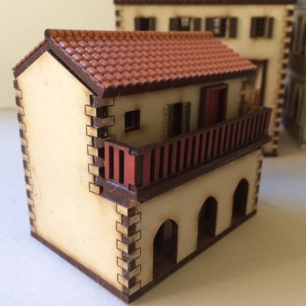 15mm Spanish/Italian Arched building