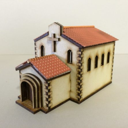 15mm Spanish/Italian Church