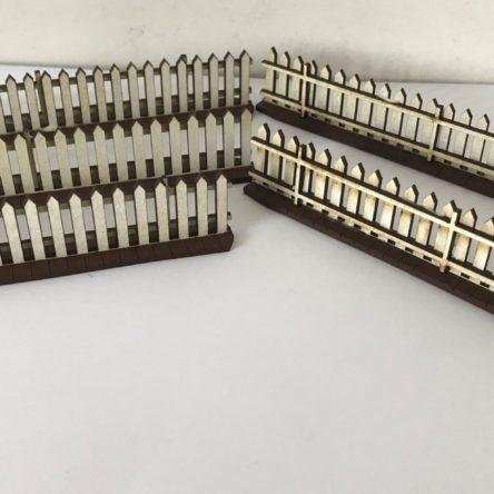 28mm Pickett fence set of 10