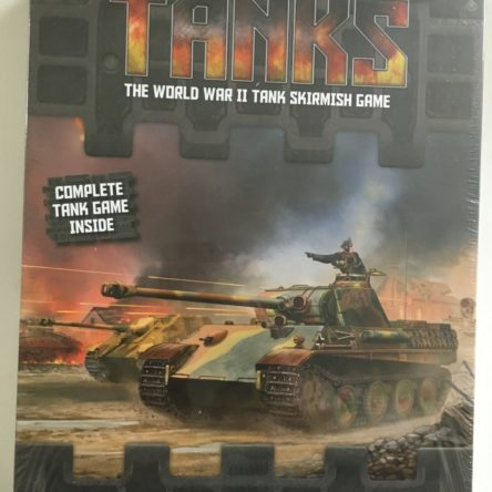 Tanks-Panther v Sherman Starter set