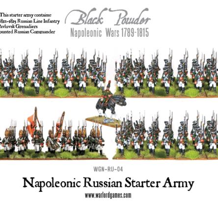 Napoleonic Russian Starter Army 1812 – 1815