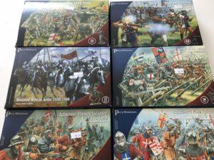 28mm Medieval Plastic Figures