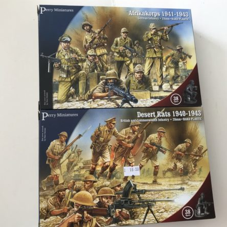 28mm Plastic WW2 Figures
