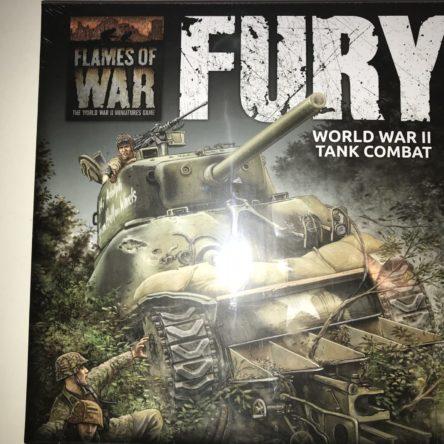 15mm  Flames of War  'Fury' WW2 tank combat