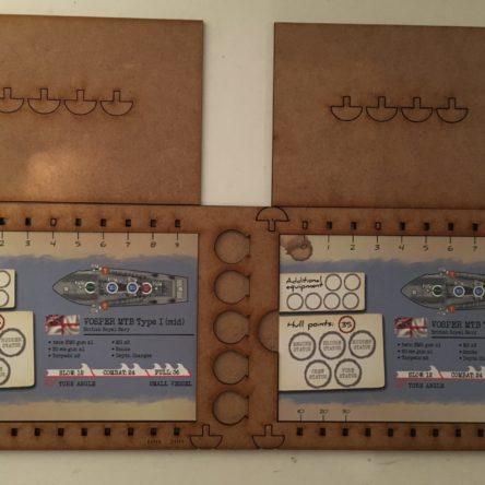 28mm Cruel Seas double card holders
