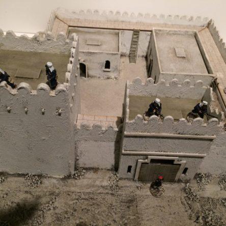 28mm Desert fort-unpainted kit