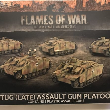15mm  Fllames of War Stug (late)  Assaut gun platoon (5 tanks)