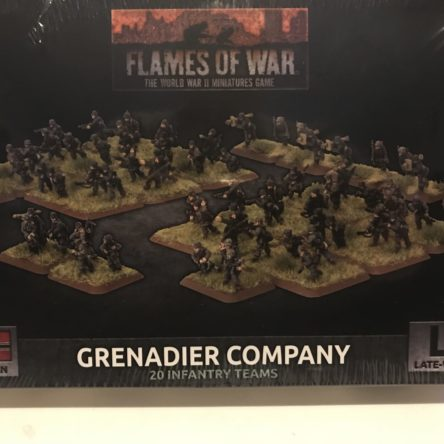 15mm  Flames of War German Grenadier Company