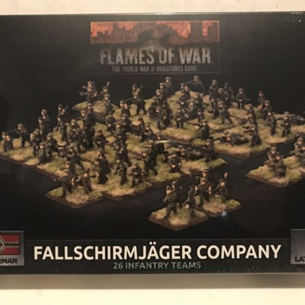15mm  Flames of War Falllschirmjager Company