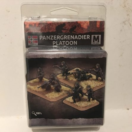 15mm  Flames of War Mid war Panzergrenadier Platoon