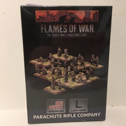 15mm  Flames of War US Parachute Rifle company