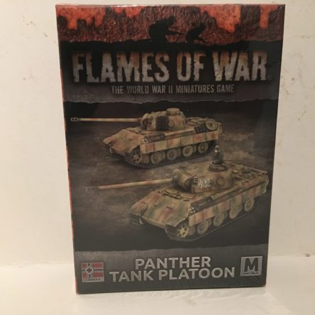 15mm  Flames of War  Panther tank platoon (2 tanks)