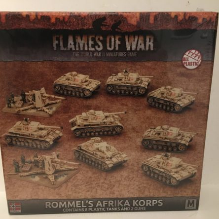 15mm  Flames of War Rommel's Afrika Korps
