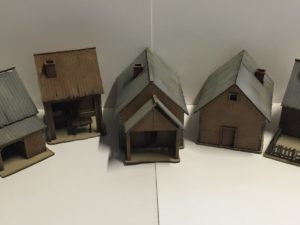 28mm Russian buildings