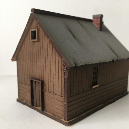 15mm Russian rural House A