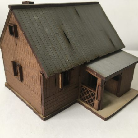 15mm Russian rural House C