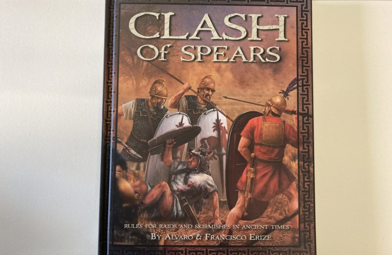 Clash of Spears Ancient skirmish rules. Now in stock