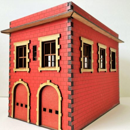 28mm Mob City Fire House