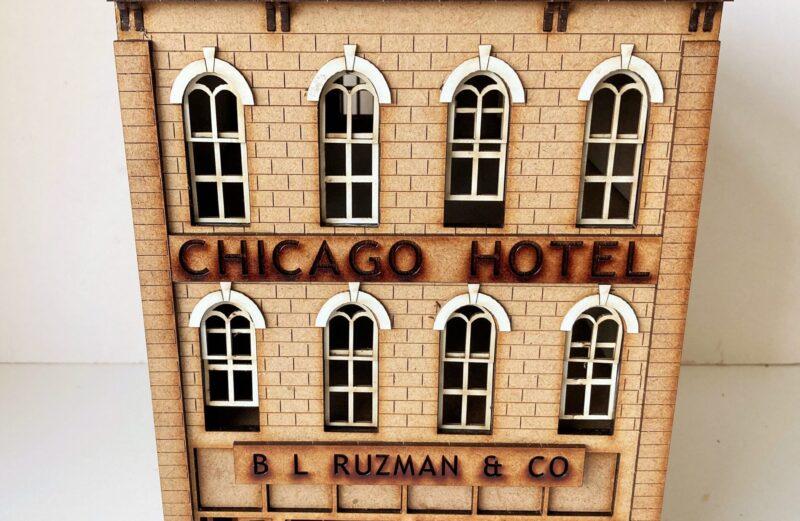 28mm Mob City Chicago Hotel block