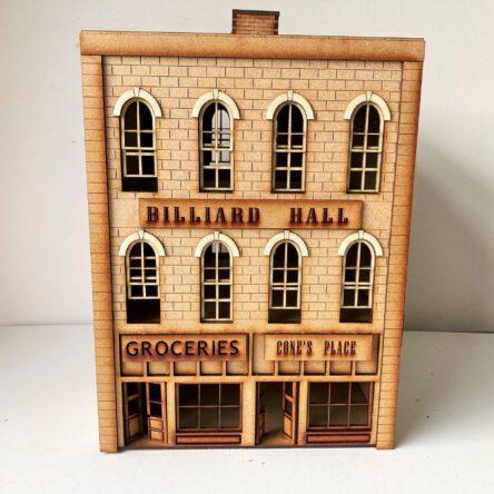 28mm Mob City Billiard Hall block