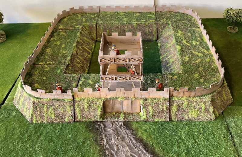 28mm Roman marching fort.