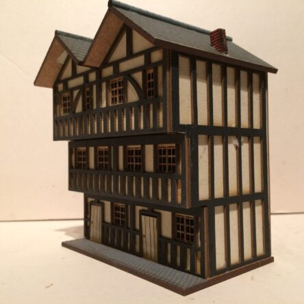 15mm 3 Storey tiered Timber frame Town houses
