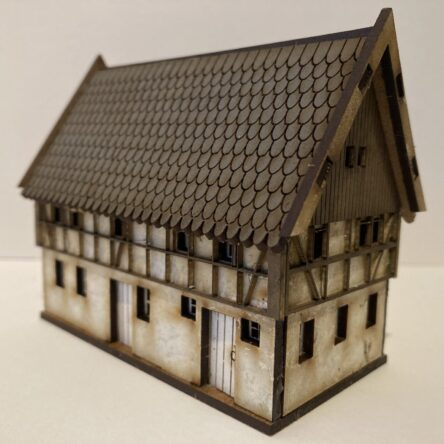 15mm Half Timber Town houses A