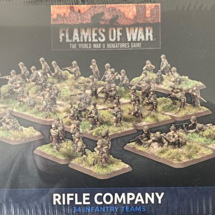 15mm  Flames of War Late war US Rifle company