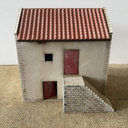 28mm Spanish/Italian House with store room A(17)