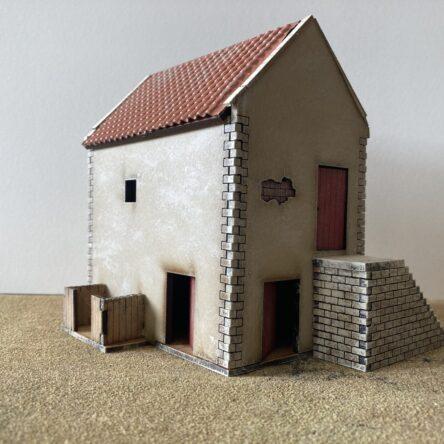 28mm Spanish/Italian House with store room B(19)