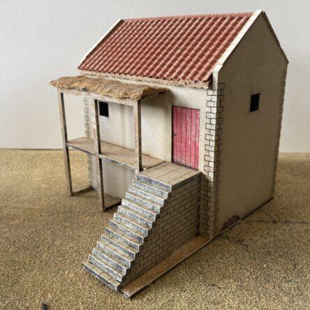 28mm Spanish/Italian House with veranda(18)
