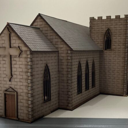 28mm Norman Church with side tower